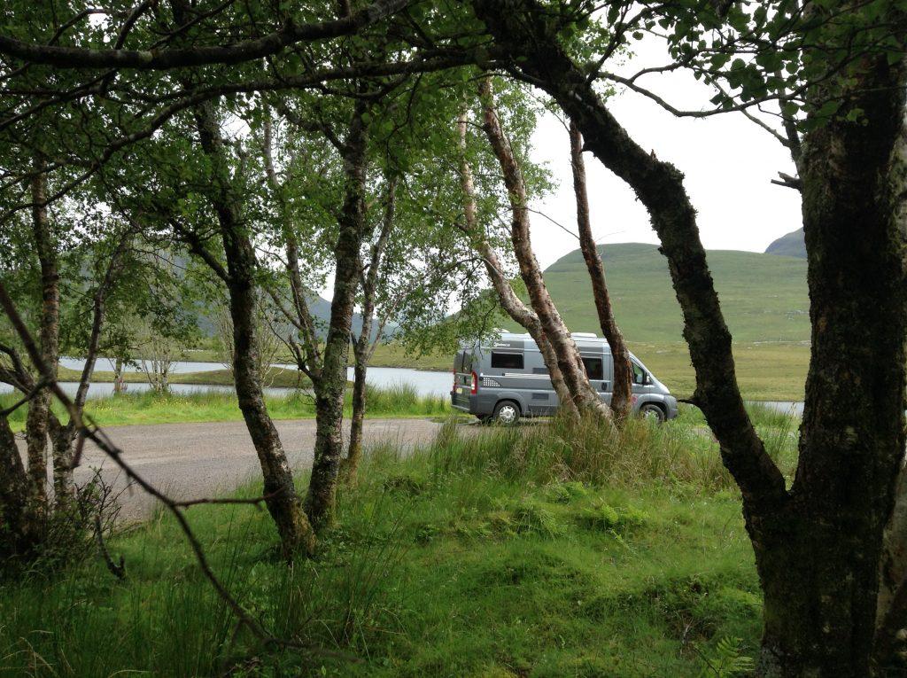 Informal camping